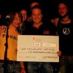Band Weltrekorder spendet 500 Euro